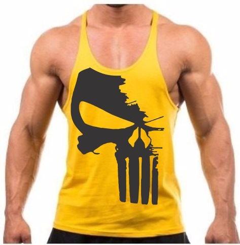 Camiseta Regata Super Cavada P  Musculação Div Modelos - R  29 57eb172bc6f