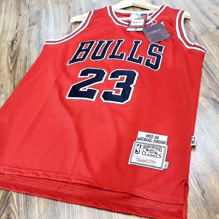 Camiseta Regata Swingman Nba Chicago Bulls Jordan Mitchell - R  259 ... 5e15be826d0