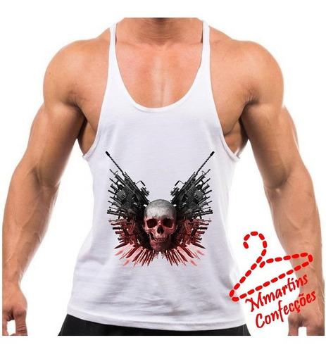 camiseta regata tank top mercenarios