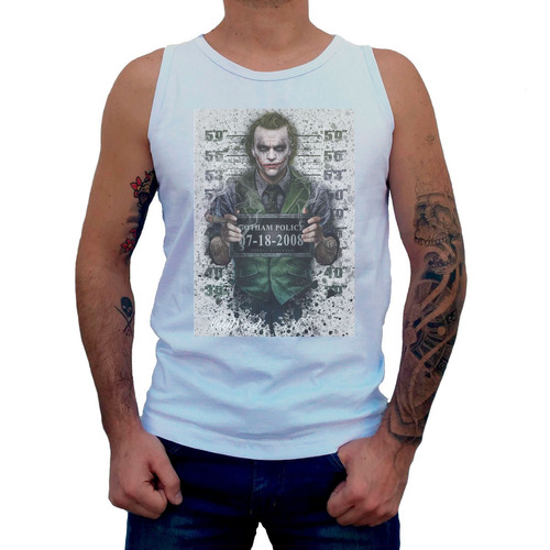 camiseta regata the joker