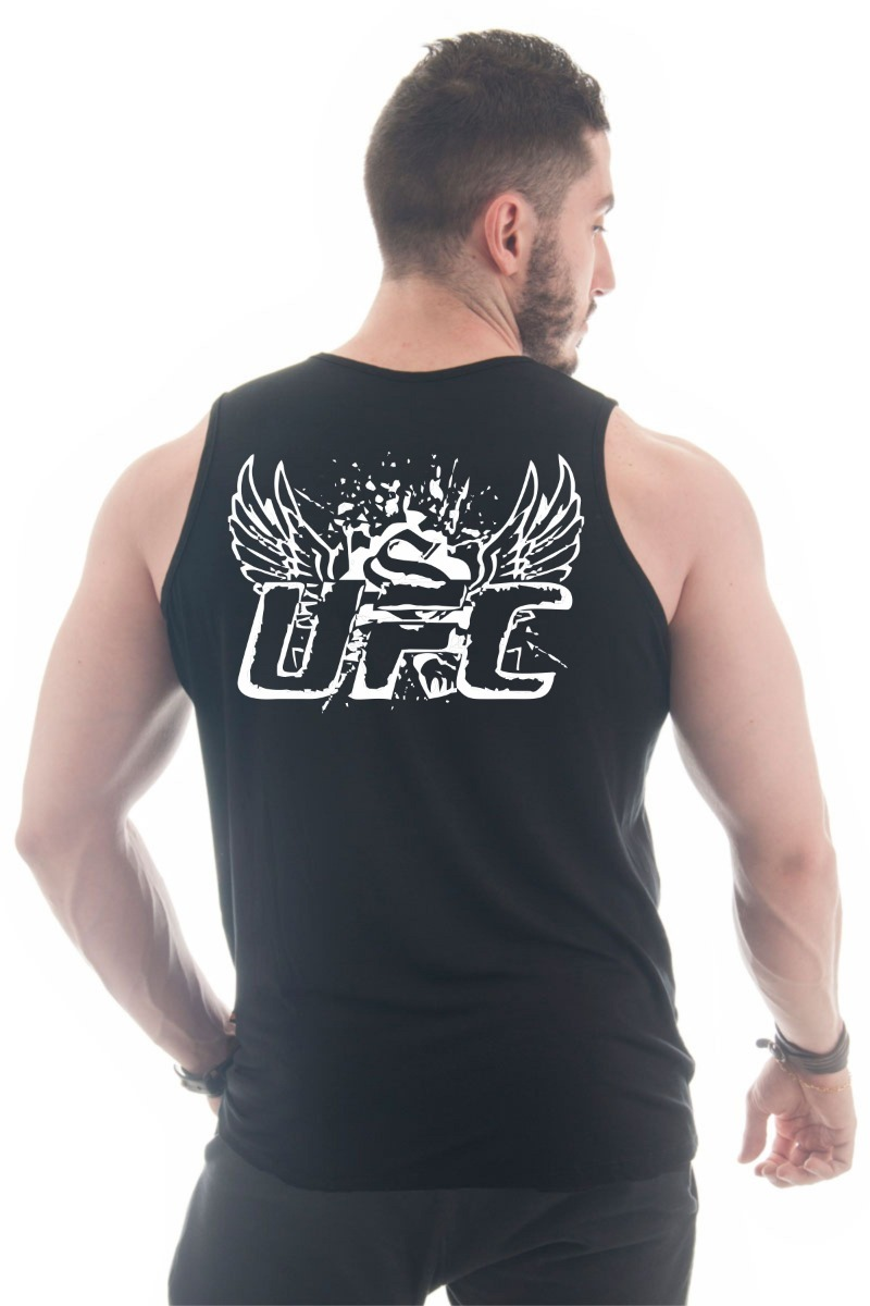 Camiseta Regata Ufc Mma Vale Tudo Treino Musculação Fitness - R  30 ... a494753ee7e