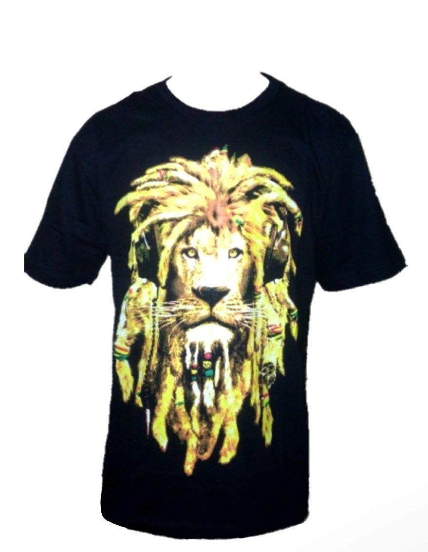 camiseta reggae leão rasta + pulseira. Carregando zoom. 157bf323ac8