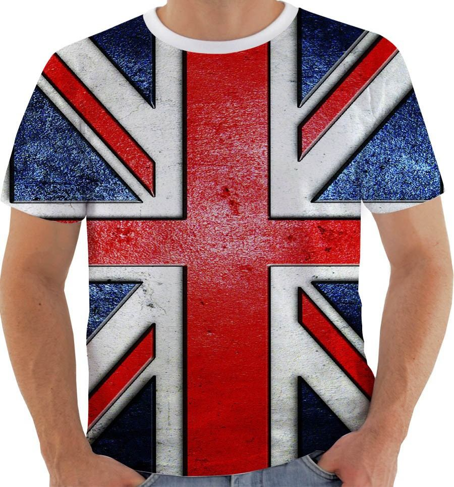 camiseta reino unido 10 - grã bretanha - inglaterra - uk. Carregando zoom. 456ce489ce1d9