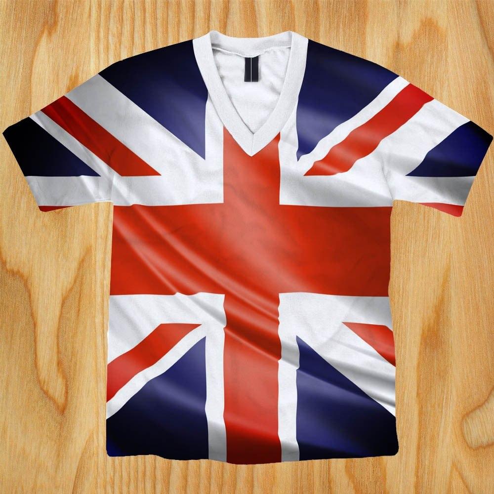 camiseta reino unido 4 - grã bretanha - inglaterra - uk. Carregando zoom. ac7842ea6ee93