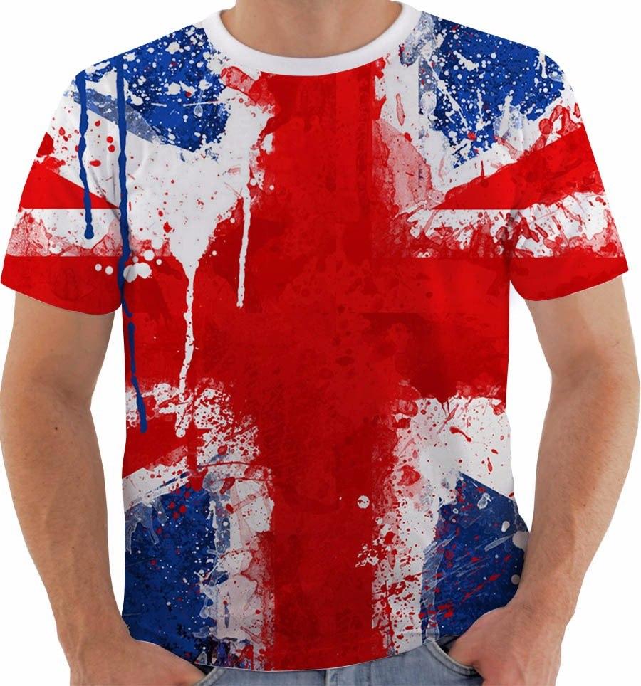 ff26d6d41a camiseta reino unido uk union jack inglaterra british 5. Carregando zoom.