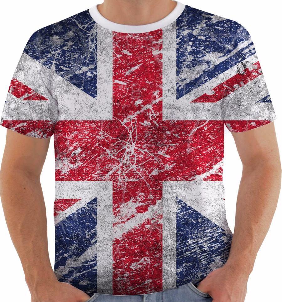 1cbdb6cdb4 camiseta reino unido uk union jack inglaterra british 7. Carregando zoom.