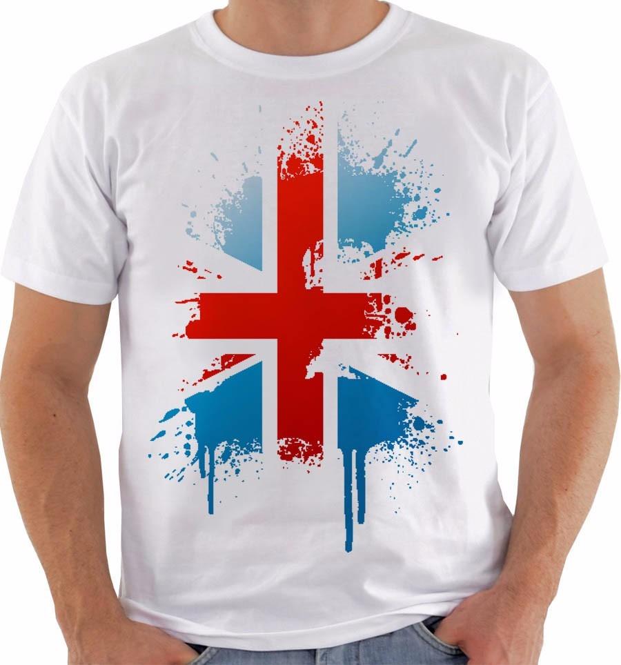 a100e2fba4 camiseta reino unido uk union jack inglaterra british 9. Carregando zoom.