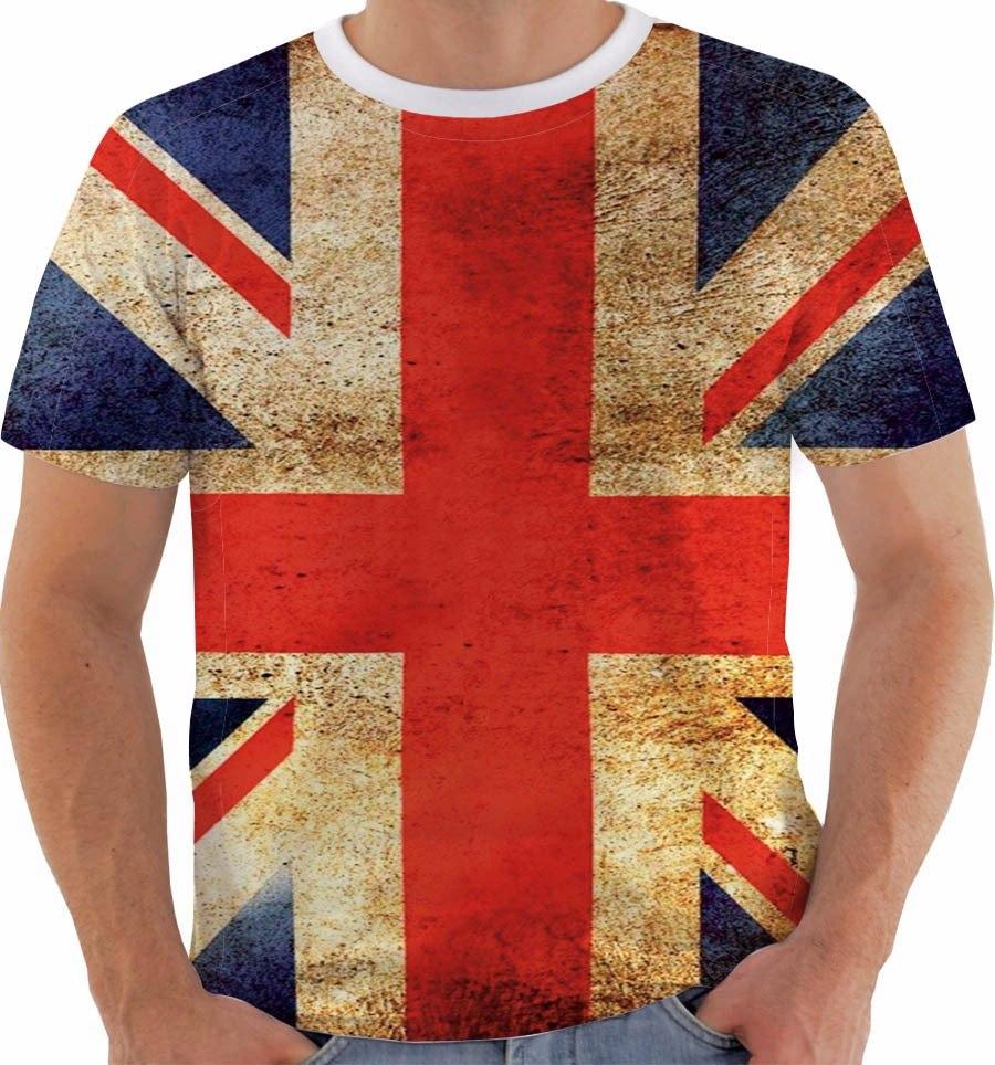 a123f6bbac camiseta reino unido uk union jack inglaterra british grunge. Carregando  zoom.
