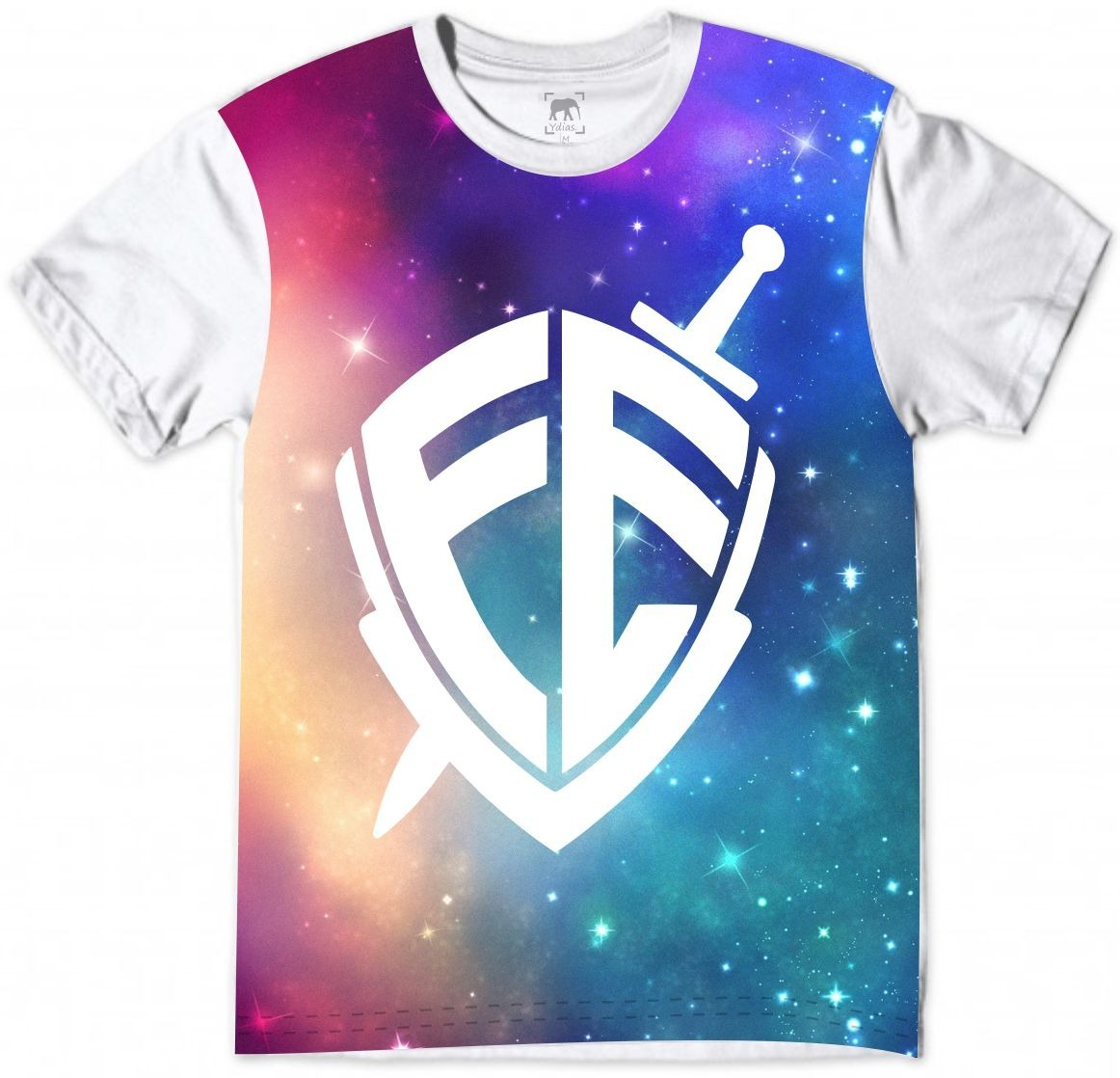 104022d72 camiseta religiosa fé moda gospel galáxia cristo branca. Carregando zoom.