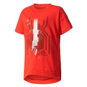 4aed9442f Camiseta Remera adidas Spiderman Hombre Araña De Niño