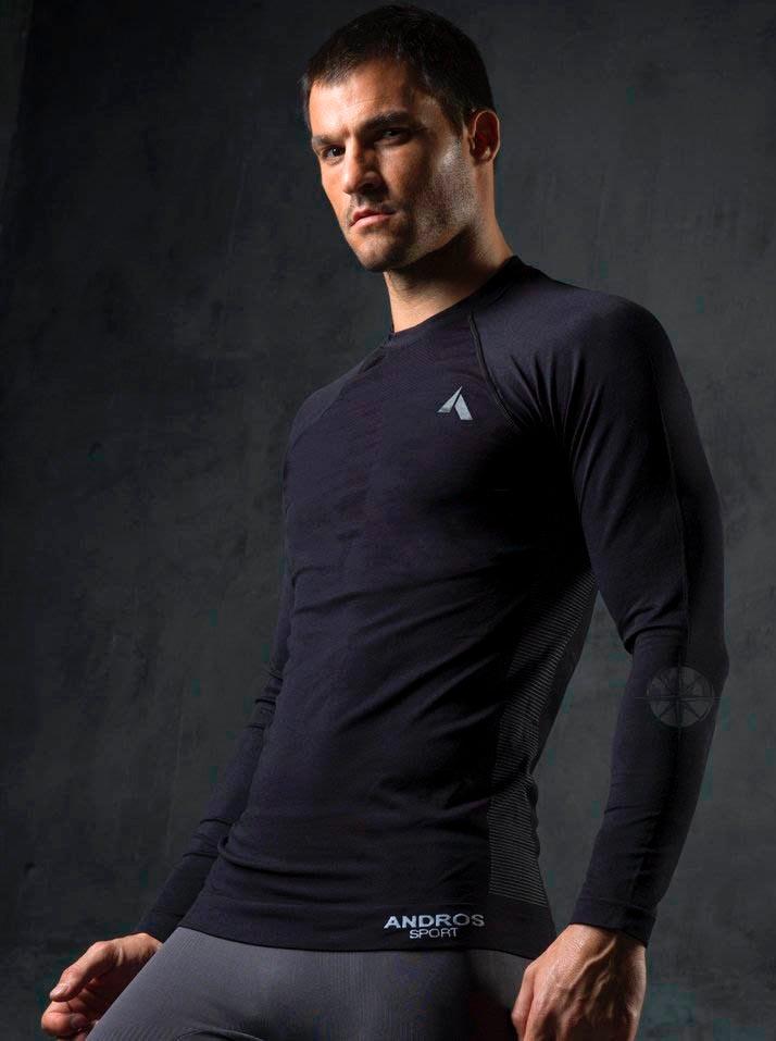 6ea4e4a1142ce camiseta remera deportiva manga larga hombre andros palermo°. Cargando zoom.