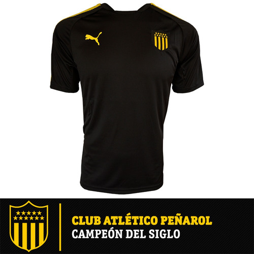 camiseta remera puma peñarol entrenamiento 2017-18 oficial