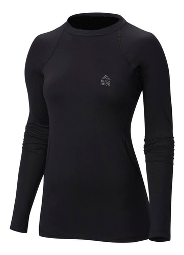 camiseta remera térmica black rock mujer invierno frío