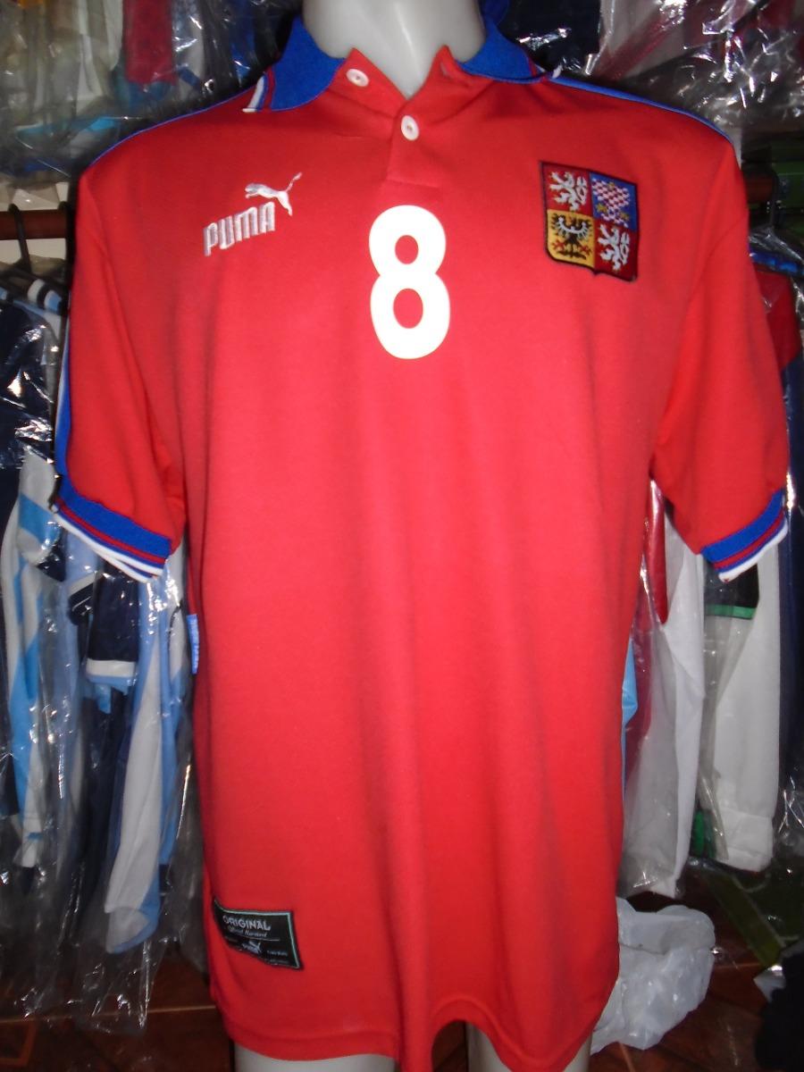 camiseta república checa euro inglaterra 1996 96 poborsky  8. Cargando zoom. 403a0df043690