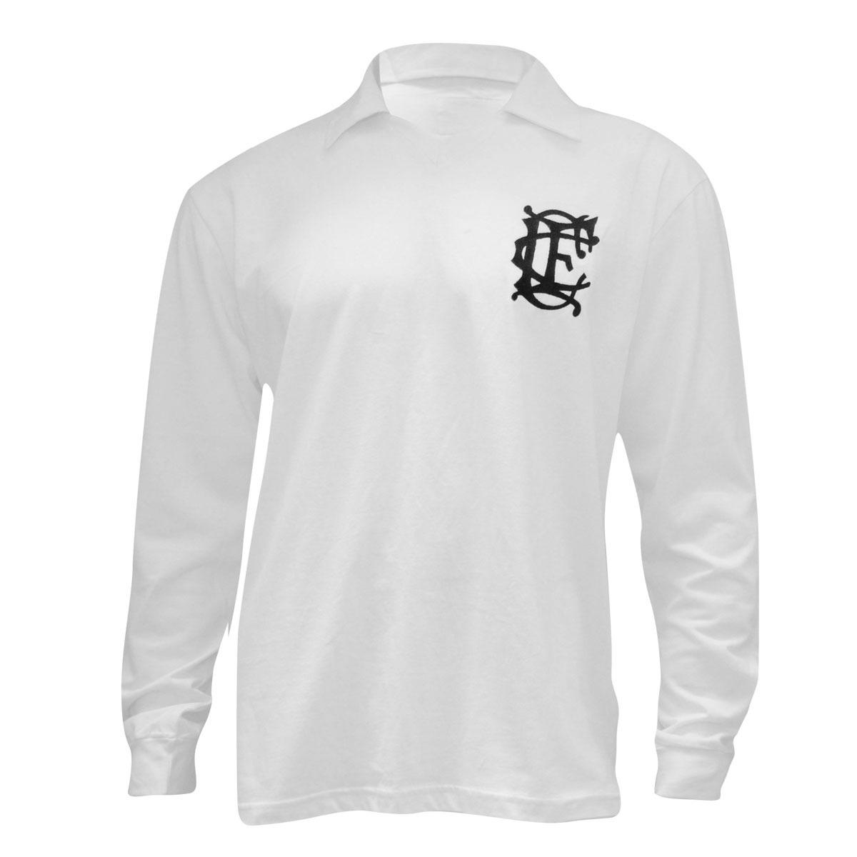 1494ceb368a40 camiseta retrô corinthians- liga retrô - branca 1910 manga l. Carregando  zoom.