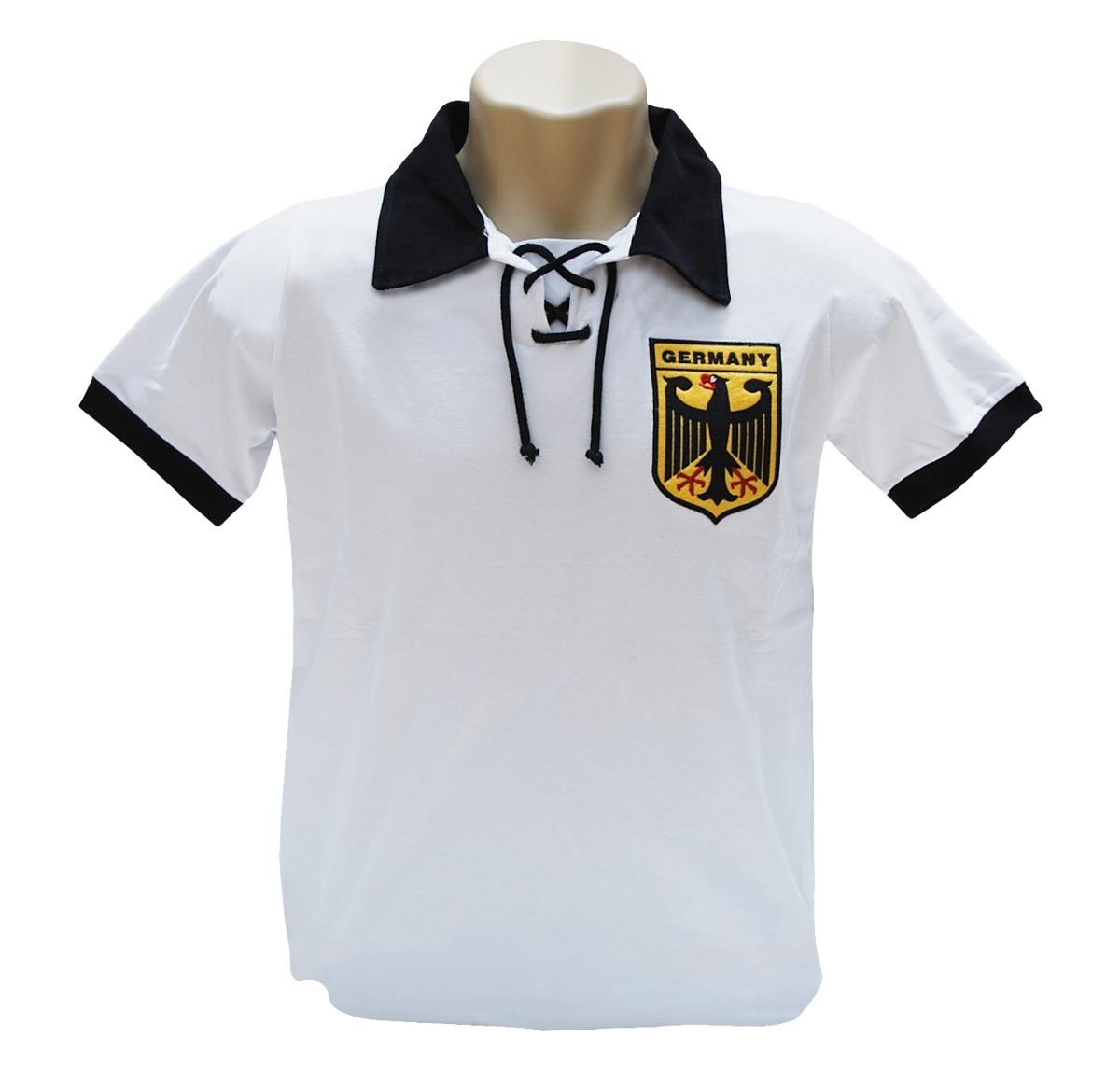 a9434112c40fe camiseta retrô seleção alemanha 1974 - torcida retrô. Carregando zoom.