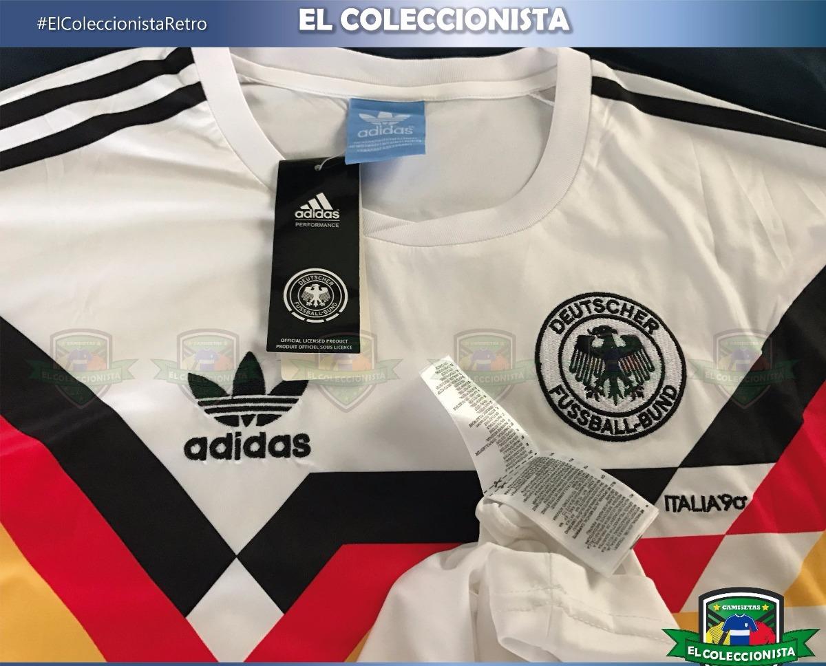 Camiseta Retro Alemania Mundial Italia 1990 Klinsmann - U ...