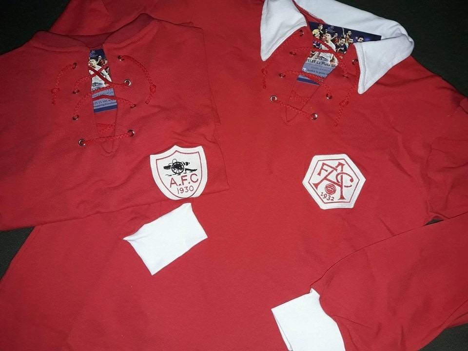 98424c6db0 camiseta retro arsenal premier inglaterra 1930 1932. Cargando zoom.