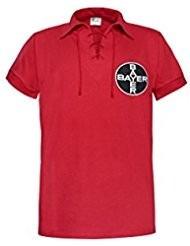 camiseta retro bayer leverkusen alemania