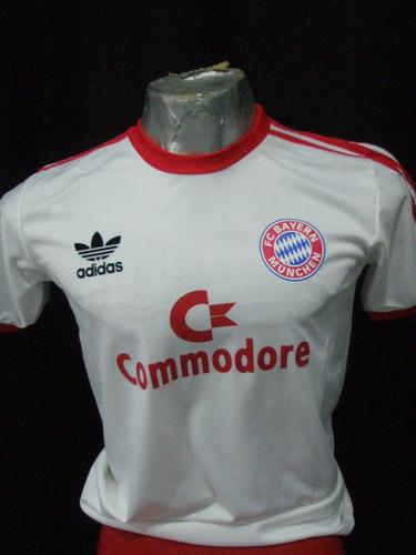 camiseta retro bayern munich retro blanca  !!!