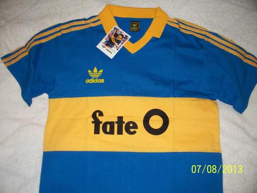 camiseta retro boca 1988/89