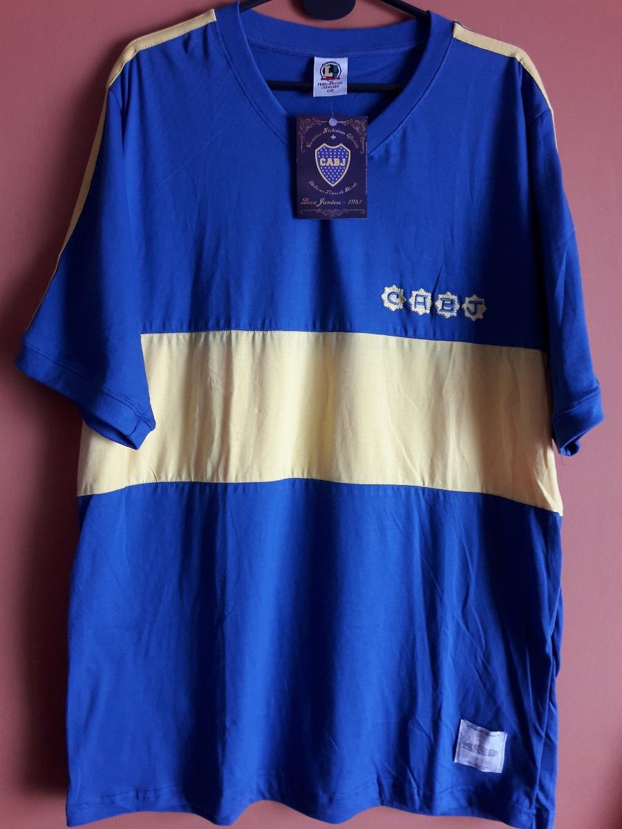 3181b0c005392 camiseta retro boca juniors 1981. Cargando zoom.