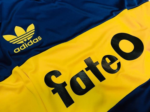 camiseta retro boca juniors titular 1987 fate o