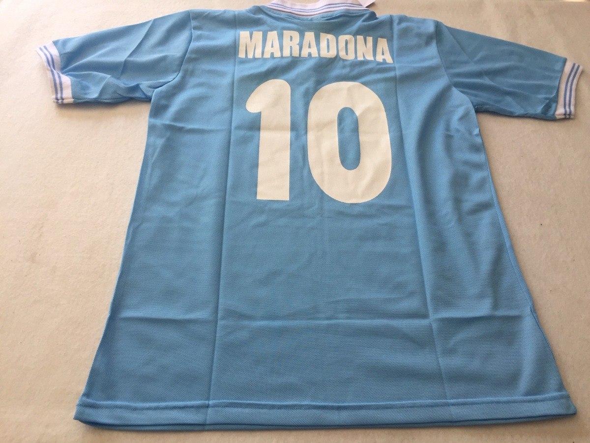 camiseta retro del napoli maradona con el 10. Cargando zoom. c3d7c23f07cd7