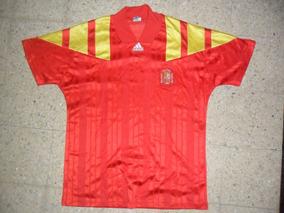 ee88bd14b0c Camiseta Adidas De La Seleccion De España, Años ´90 A 80 ...
