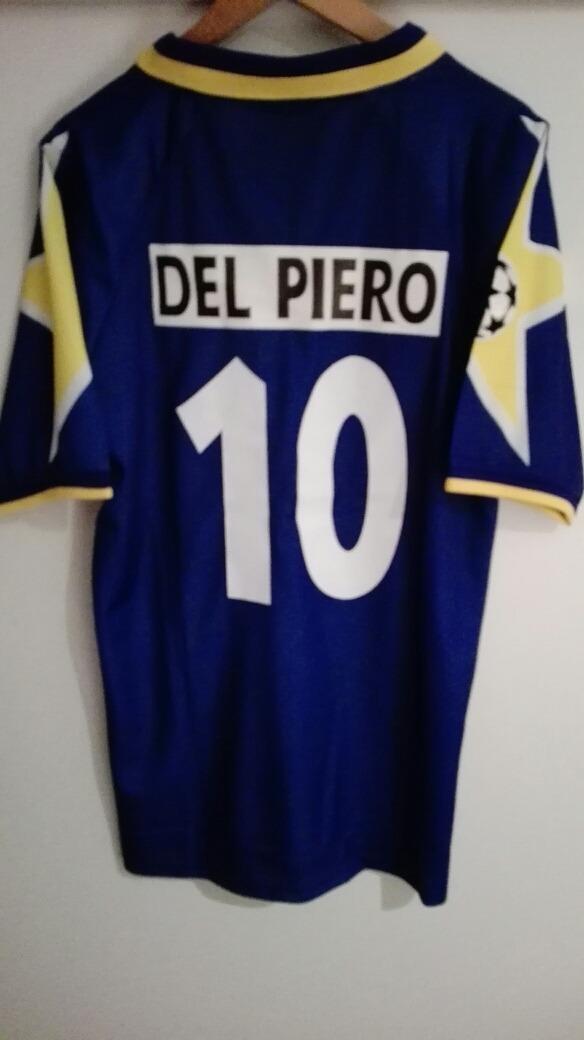 Camiseta Retro Juventus 96 Del Piero N°10 -   15.000 en Mercado Libre f05d0017fb6b9