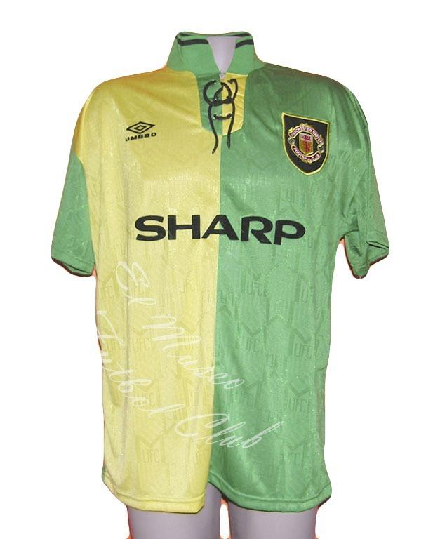 Camiseta Retro Manchester United 3era 1992-1994  7 Cantona -   1.199 ... f76fa8c0a815f