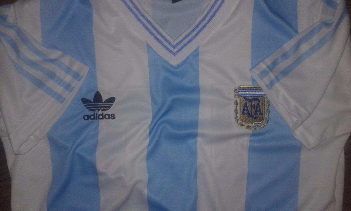 camiseta retro mundial 1990 de maradona italia 90. Cargando zoom. 8bc731fc092f2