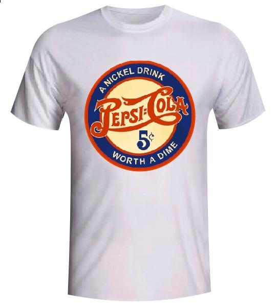 mejores zapatillas de deporte 3adf3 4c3ac Camiseta Retro Pepsi