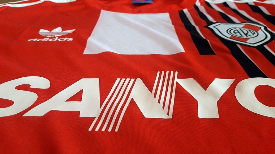 117427812 camiseta retro river plate roja suplente `92 + envío gratis! Cargando zoom.