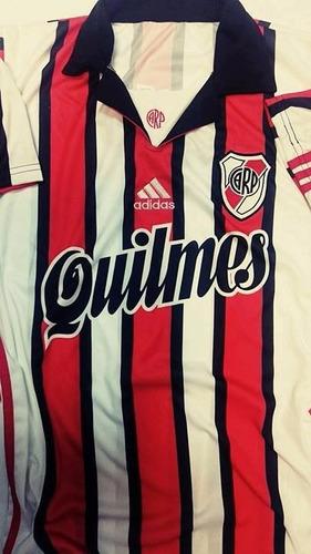camiseta retro river tricolor 1999 alternativa
