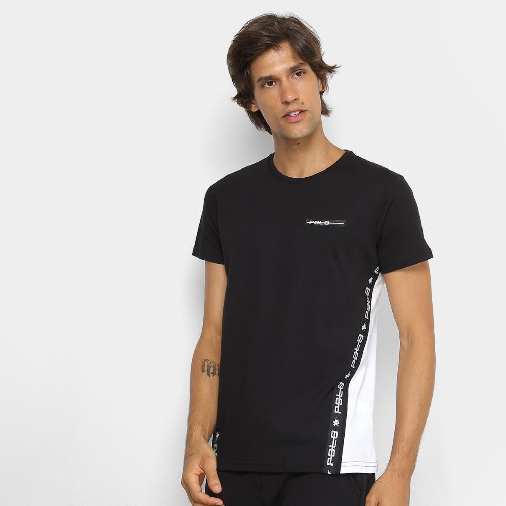 159a854aac Camiseta Rg 518 Listra Lateral Masculina - R$ 49,99 em Mercado Livre