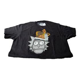 Camiseta Ricky And Morty Hot Topic Talla L - Negra