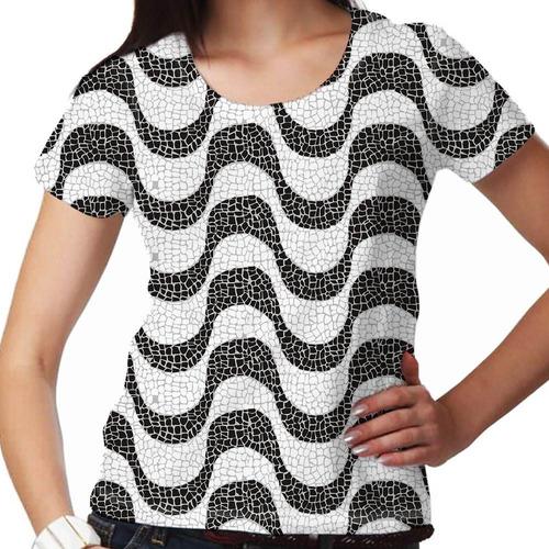 camiseta rio de janeiro copacabana feminina