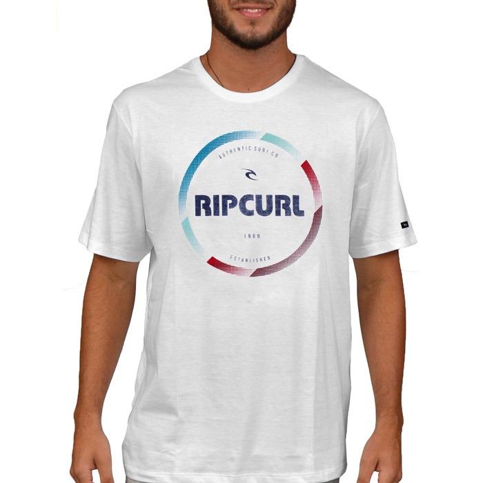 bd8fa2c75779f Camiseta Rip Curl Sparta Branca - R  89