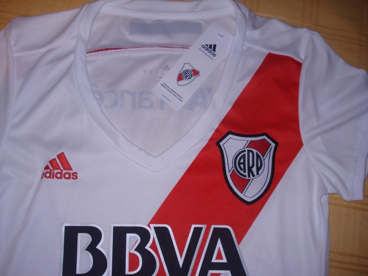 Camiseta River Plate Mujer Dama 2014 2015 adidas Original ... 4db14e0320329