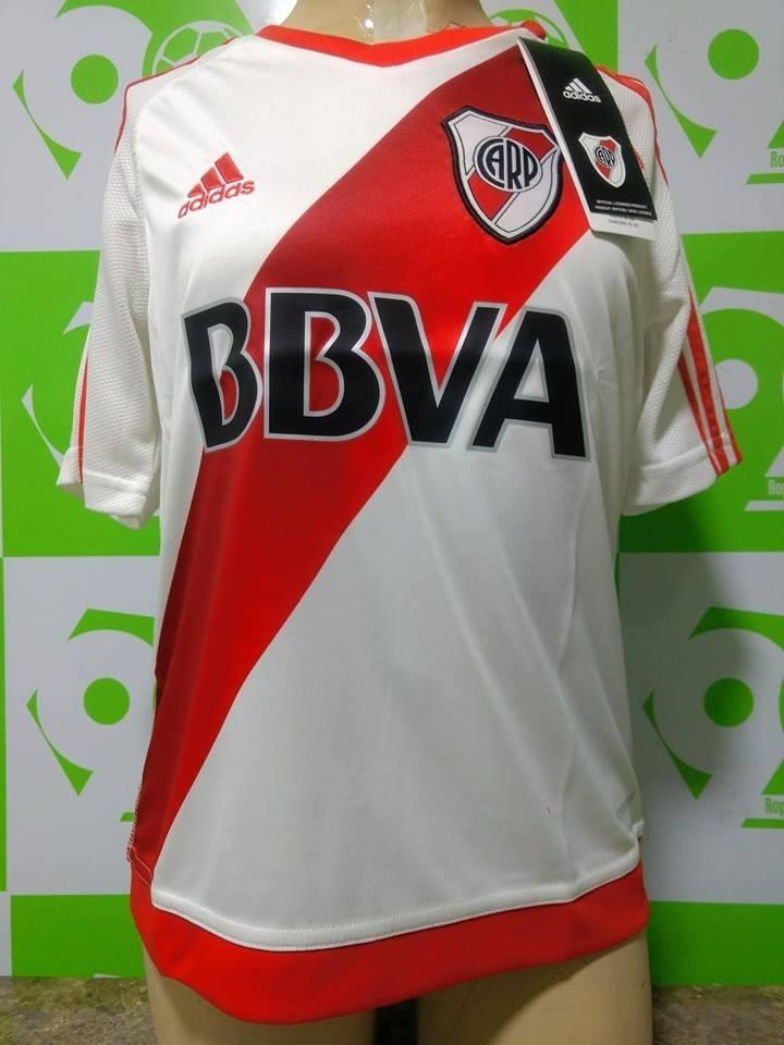 estilo distintivo material seleccionado tienda de liquidación Camiseta River Plate 2016-2017 Niño Local adidas Nueva