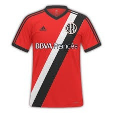 camiseta river plate negra y roja suplente liquidacion !!!