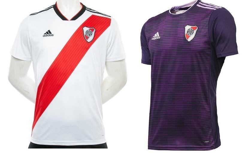 Camiseta River Plate Titular O Suplente 2018 2019 Envios -   719 a042a41a58e88