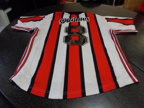 camiseta river quilmes suplente rayada epoca aimar(quilmes)