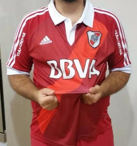 camiseta river roja 2012 2013 con cuello tramontina envios