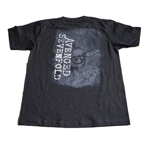 camiseta rock activity avenged sevenfold importada talla m