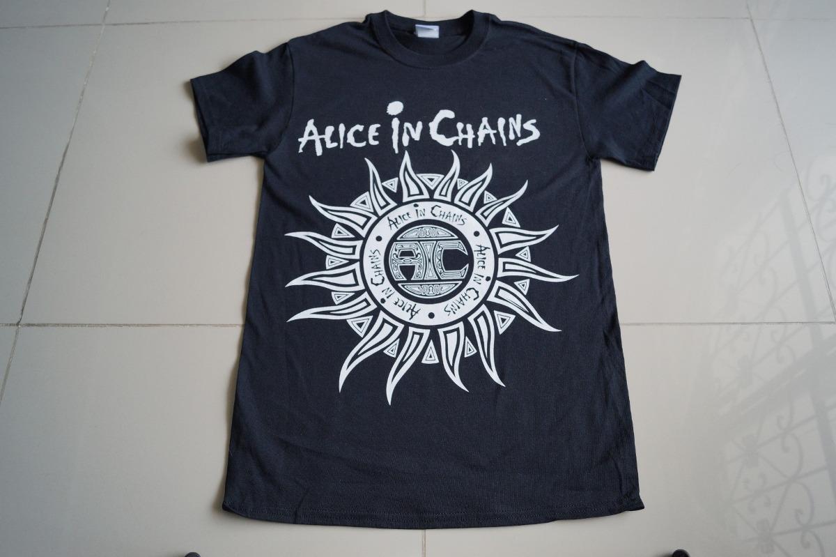 efb3dc3d2 Camiseta Rock Alice In Chains Rock Activity -   38.900 en Mercado Libre