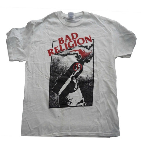 camiseta rock bad religion import rock activity talla m