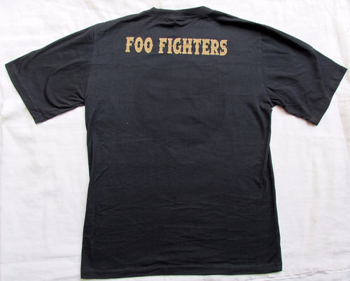camiseta rock - banda foo fighters