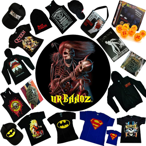 camiseta rock metal led zeppelin estampada tienda urbanoz